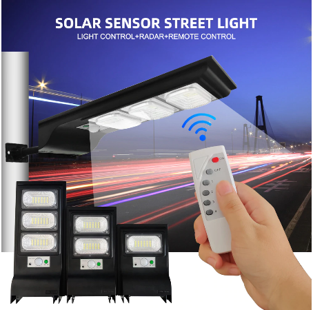 Solar Street LED Lamp sets  20W Price Bangladesh