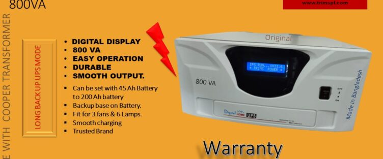 Digital IPS UPS 800VA Price In Bangladesh