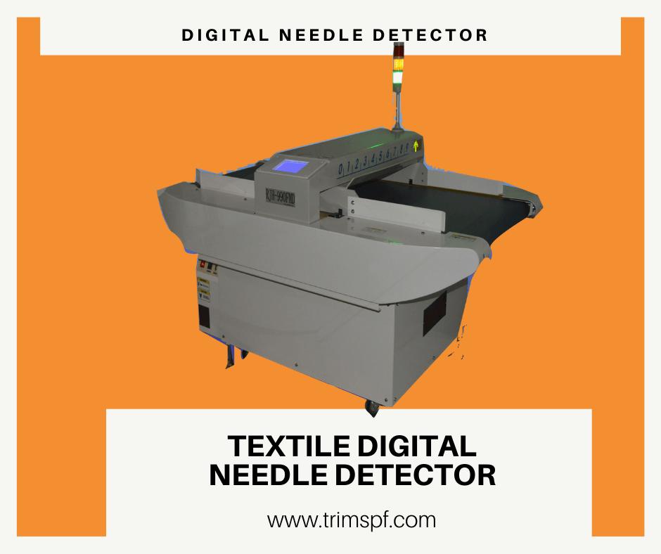 Needle Detector Conveyor Type Audio Visual Detection Textile Bangladesh